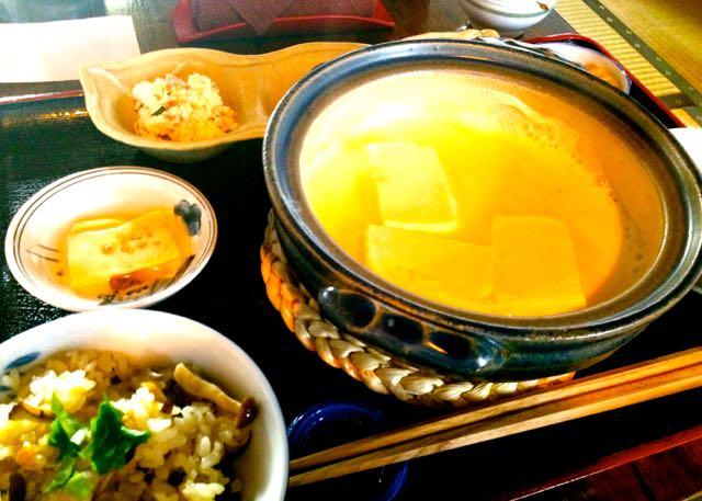 うめだ屋のおいしいお豆腐ランチ