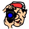 カメラマンのアイコン