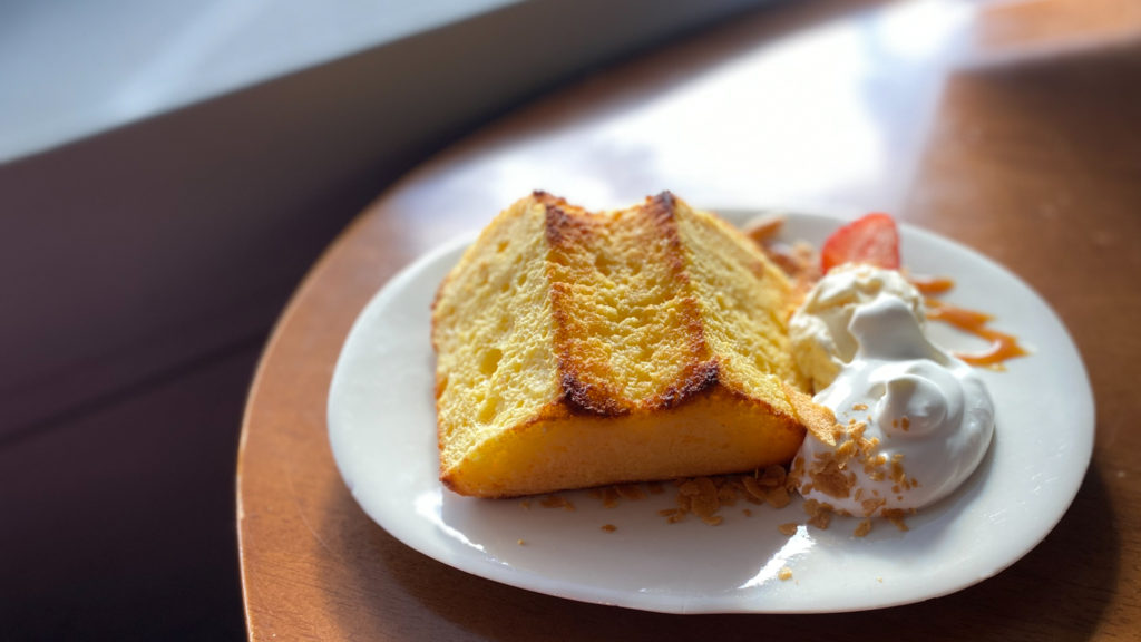ジャンティーユのシフォンケーキ