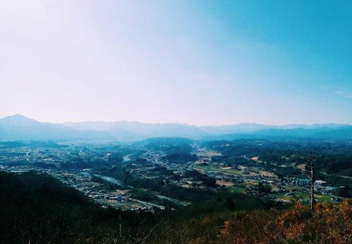 稲穂山からの眺望