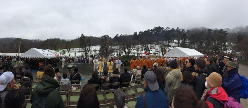 長瀞火祭りの様子