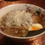 奥我:チャーシュー麺(塩)
